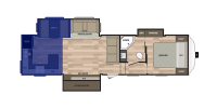 Rear Kitchen Floor Plan