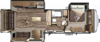 2016 Open Range Roamer 348RLS Floor Plan