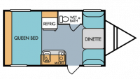 2019 Throwback 166 Floor Plan