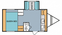 2019 Throwback 176S Floor Plan