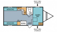 2018 Throwback 820R Floor Plan