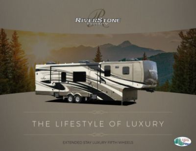 2019 Forest River Riverstone Legacy RV Brochure Cover