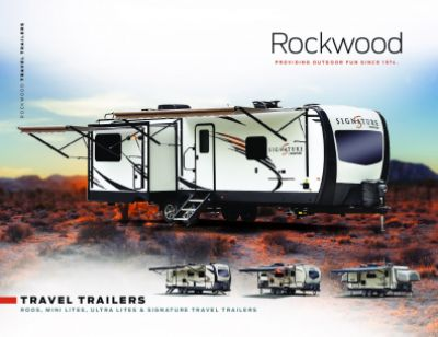2019 Forest River Rockwood Mini Lite RV Brochure Cover