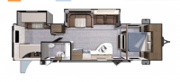 2018 Mesa Ridge Lite MR3110BH Floor Plan
