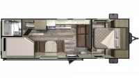 2019 Mossy Oak 26BH Floor Plan