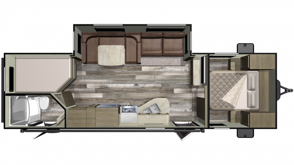 2019 Mossy Oak 27BHS Floor Plan Img