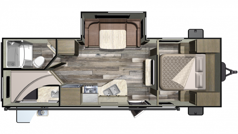 2019 Mossy Oak Lite 24ODK Floor Plan Img