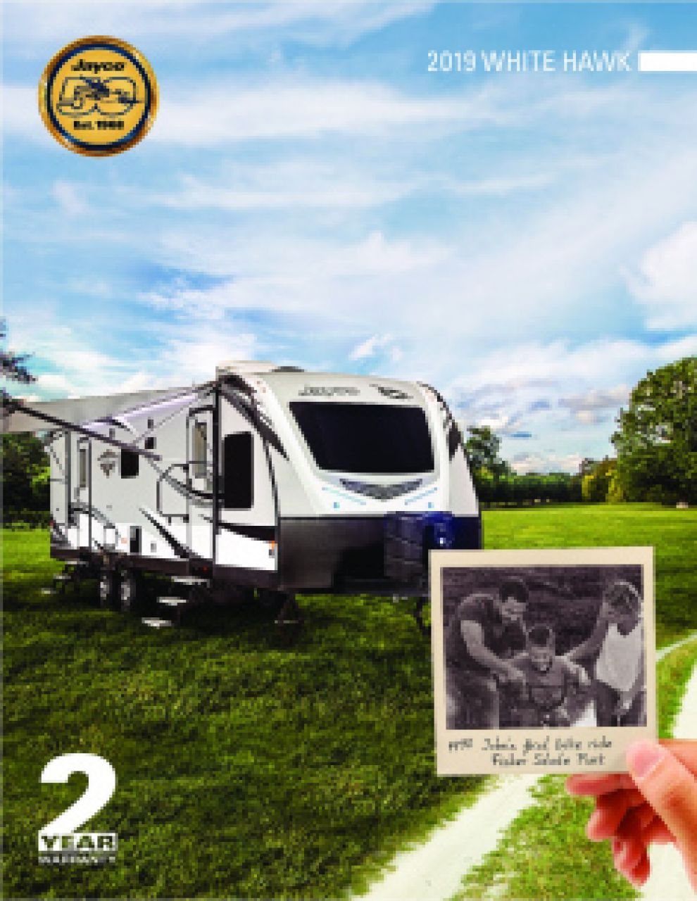 2019 Jayco White Hawk RV Brochure Cover