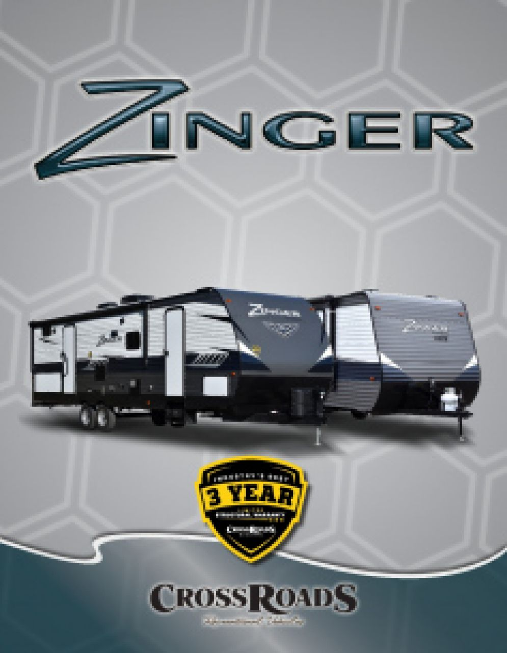 2019 CrossRoads Zinger RV Brochure Cover