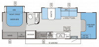 2014 Greyhawk 29MV Floor Plan