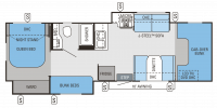 2014 Greyhawk 31 FS Floor Plan