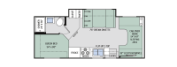 2017 Four Winds 24c Floor Plan