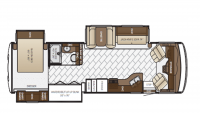 2018 Baystar 3406 Floor Plan