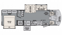 2018 FR3 30DS Floor Plan