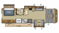2018 Precept 31UL Floor Plan
