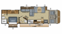 2018 Precept 33U Floor Plan