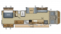 2018 Precept 35S Floor Plan