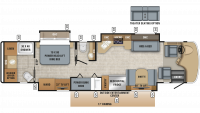 2019 Embark 39BH Floor Plan