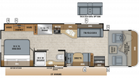 2019 Precept 29V Floor Plan
