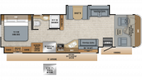 2019 Precept 34G Floor Plan