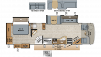 2019 Seneca 37HJ Floor Plan
