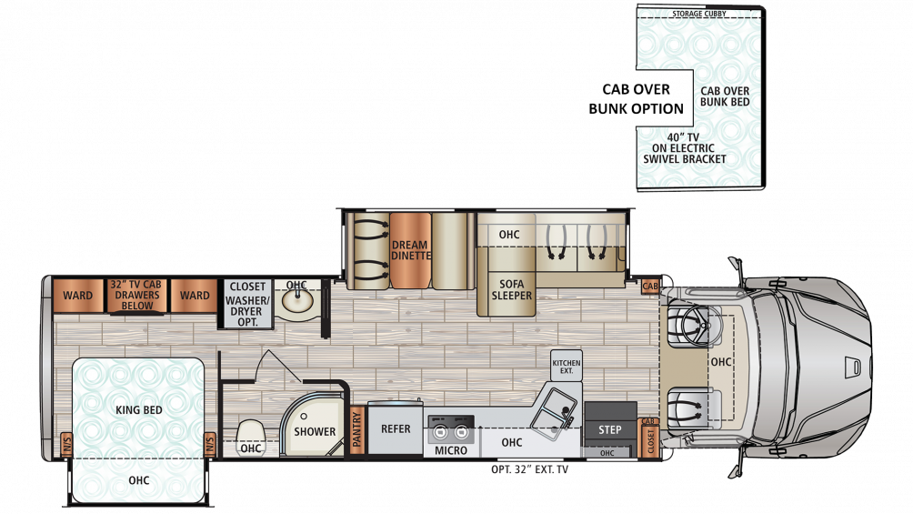 2020 DX3 34KD Floor Plan Img