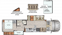 2020 DX3 37BH Floor Plan