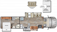 2020 DynaQuest XL 3801TS Floor Plan