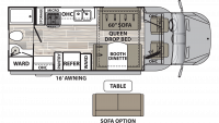 2020 Isata 3 24RBM Floor Plan