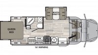 2020 Isata 3 24RWM Floor Plan