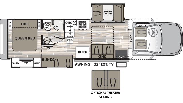 2020 Isata 5 35DBD Floor Plan