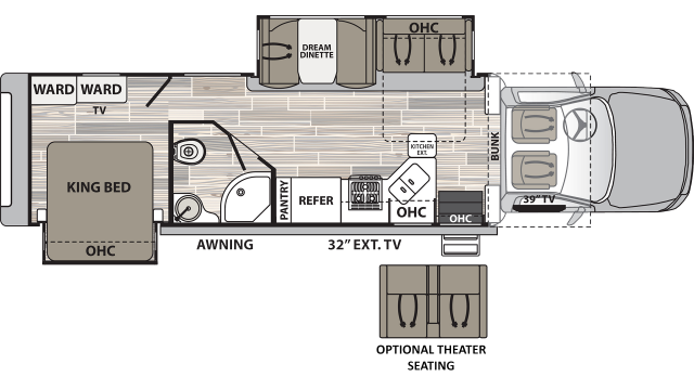 2020 Isata 5 36DSD Floor Plan