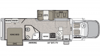 2020 Isata 5 36DSD4X4 Floor Plan