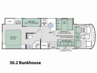 2017 ACE 30.2 Floor Plan