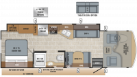2020 Alante 29S Floor Plan