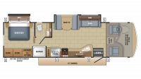 2018 Alante 31V Floor Plan