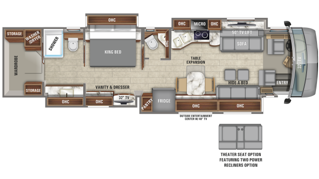 2020 Aspire 44F Floor Plan