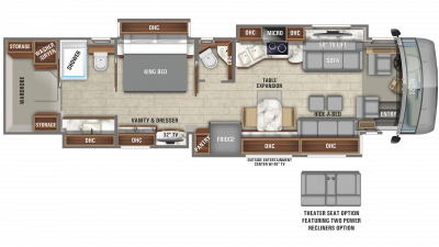 Aspire 44F Floor Plan - 2020