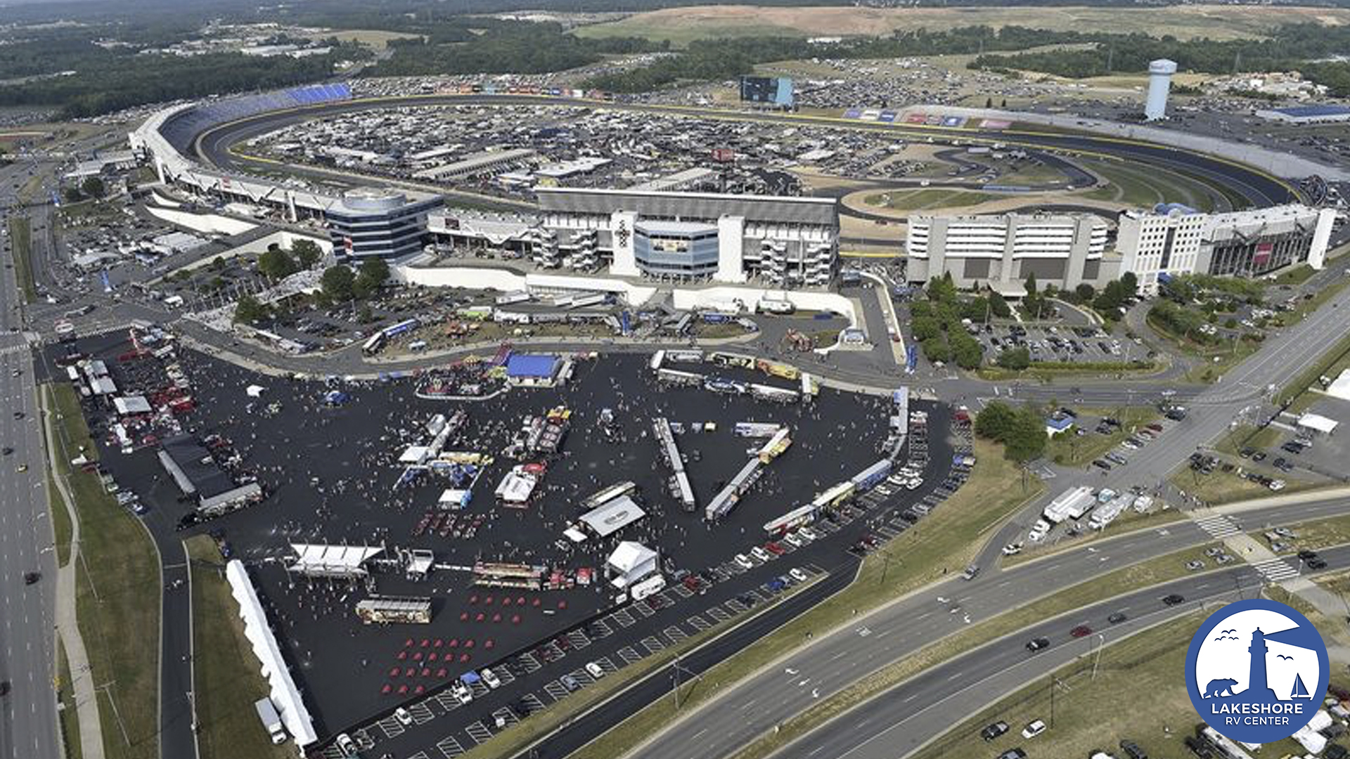 How many miles is charlotte motor speedway for Camping at charlotte motor speedway
