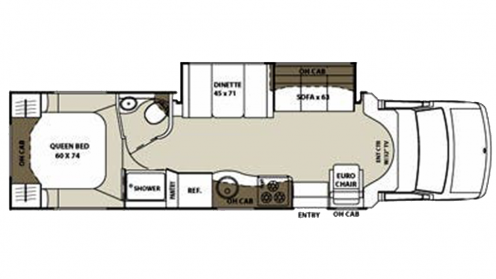 2012 Concord 301SS Floor Plan Img