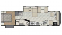 2014 Cross Country 360DL Floor Plan