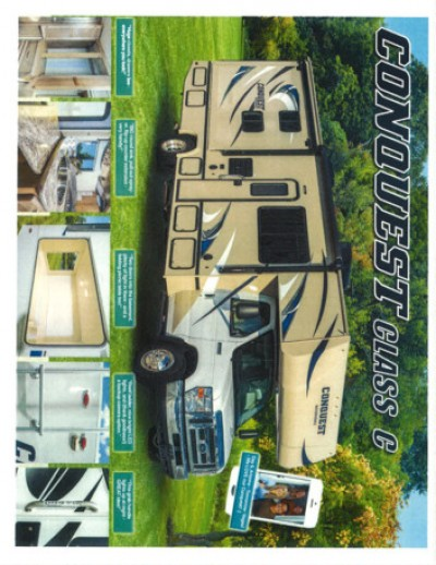 2017 Gulf Stream Conquest RV Brand Brochure Cover