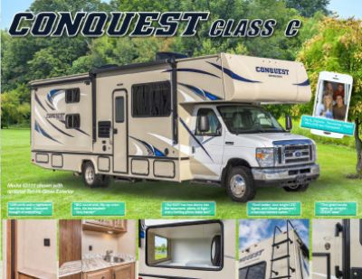 2019 Gulf Stream Conquest RV Brochure Cover