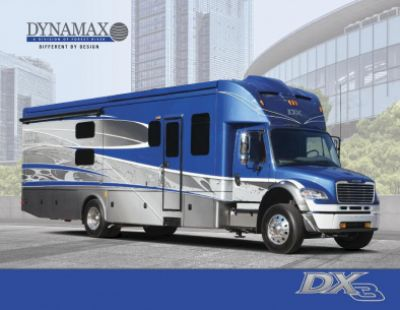 2019 Dynamax Corporation DX3 RV Brochure Cover