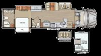 2019 DX3 37RB Floor Plan
