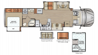 2019 DX3 37TS Floor Plan