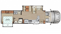 2019 DX3 34KD Floor Plan