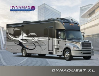 2016 Dynamax Corporation DynaQuest XL RV Brand Brochure Cover