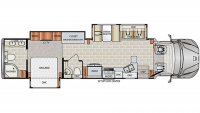 2019 DynaQuest XL 37RB Floor Plan