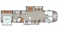 2019 Force HD 37TSHD Floor Plan